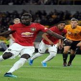 Paul Pogba Gagal Penalti, Wolves Tahan Manchester United 1-1